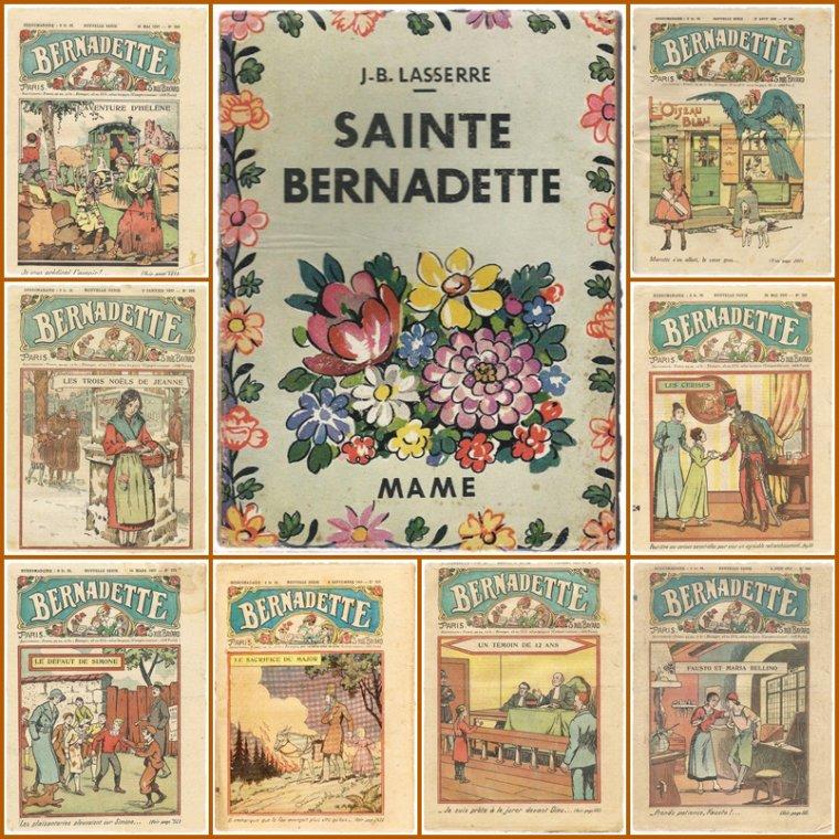 Bonne fête à toutes les Bernadette!