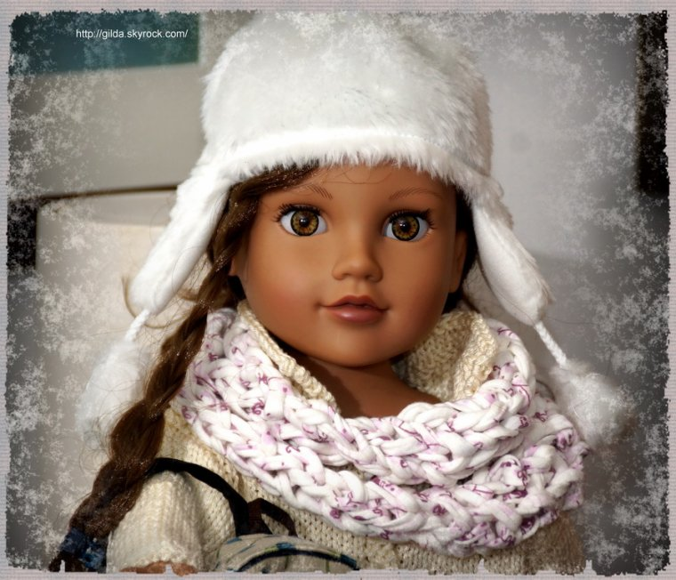 Snood en 25 mm pour Kyla (Journey Girl)....
