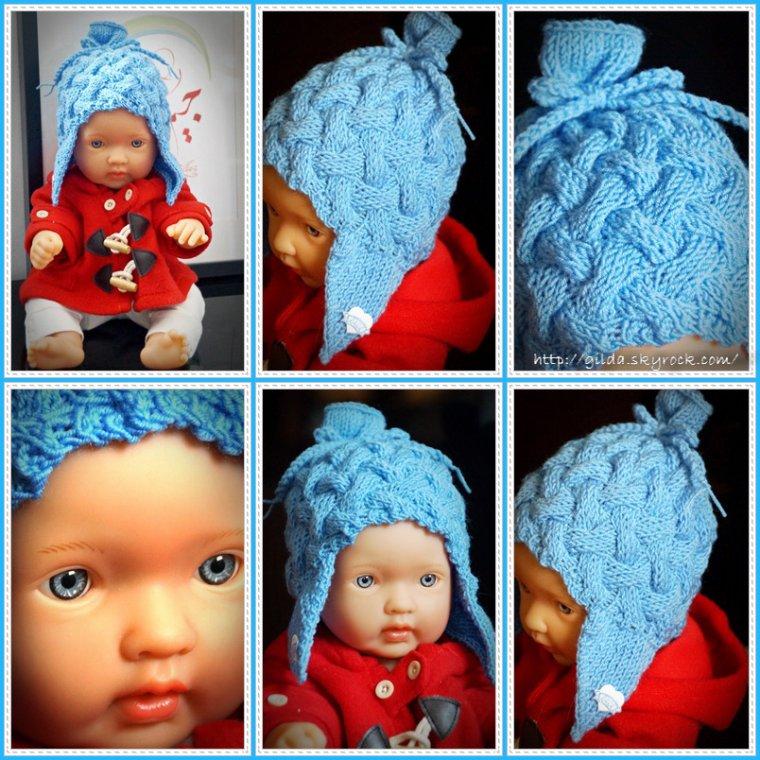 Mathias et un nouveau bonnet bleu...