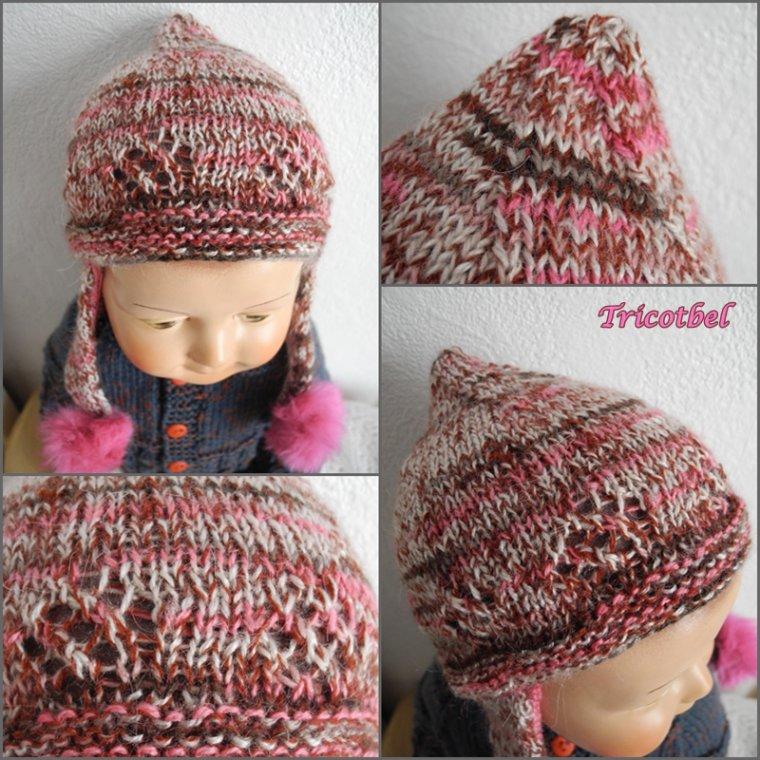 Le bonnet péruvien de Tricotbel..