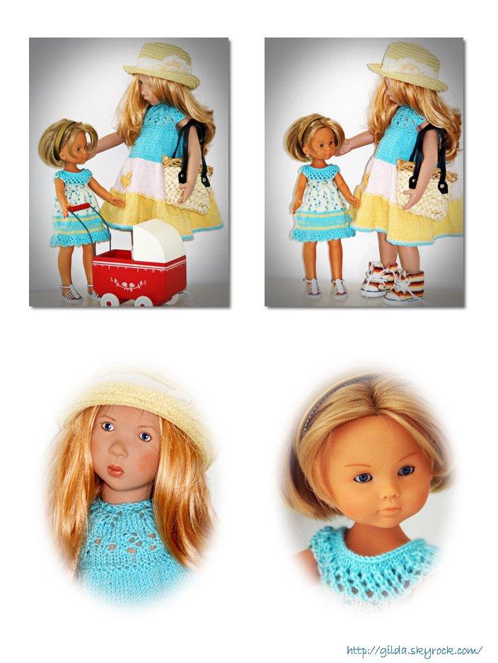 Une nouvelle robe pour Janka et une aussi pour la petite nouvelle!