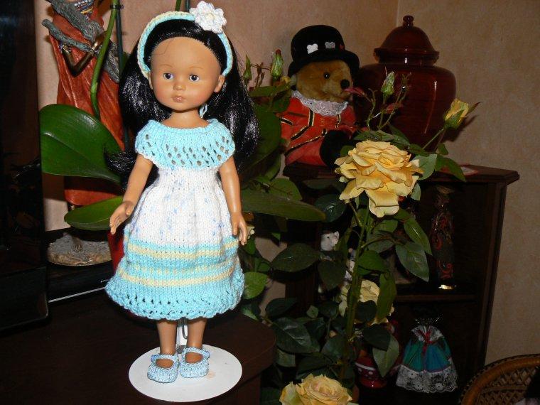 Petite robe Arc-en-ciel, nouvelle réalisation!