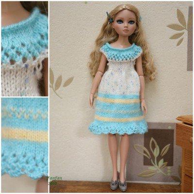 La robe Arc- en-ciel pour Ellowyne!