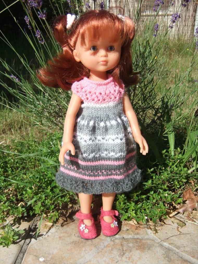 Une autre petite robe Arc-en-ciel...