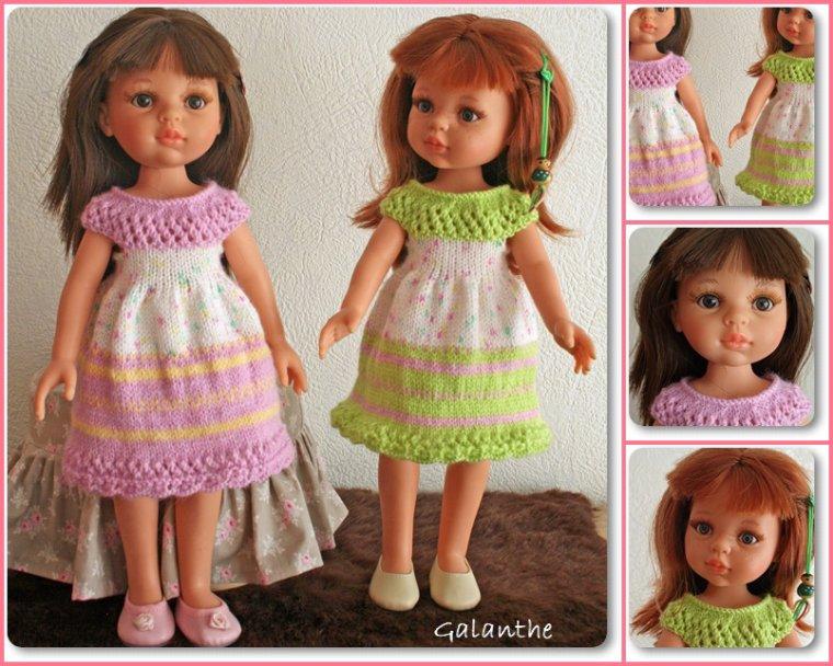La petite robe Arc-en-ciel, encore 2 versions!
