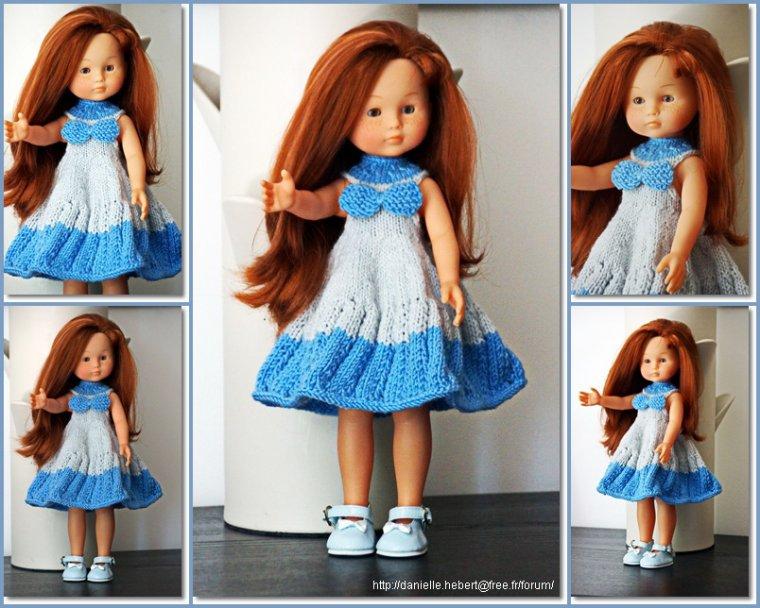 Une robe qui tourne pour Cléa!