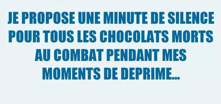 Le chocolat et nous...