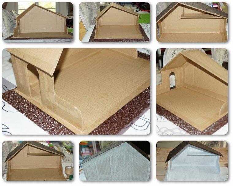 """Une petite maison """"Maison"""" Etape 1"""