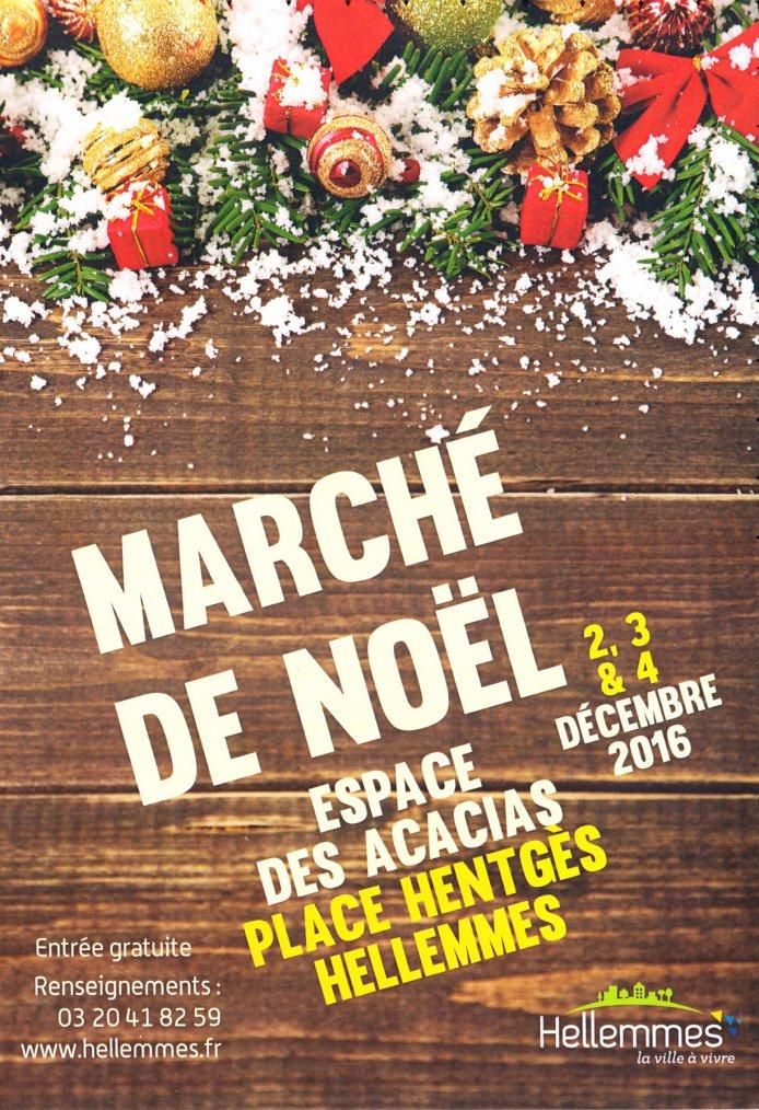 """Bientôt """"Marché de Noël d'Hellemmes (Nord)"""""""