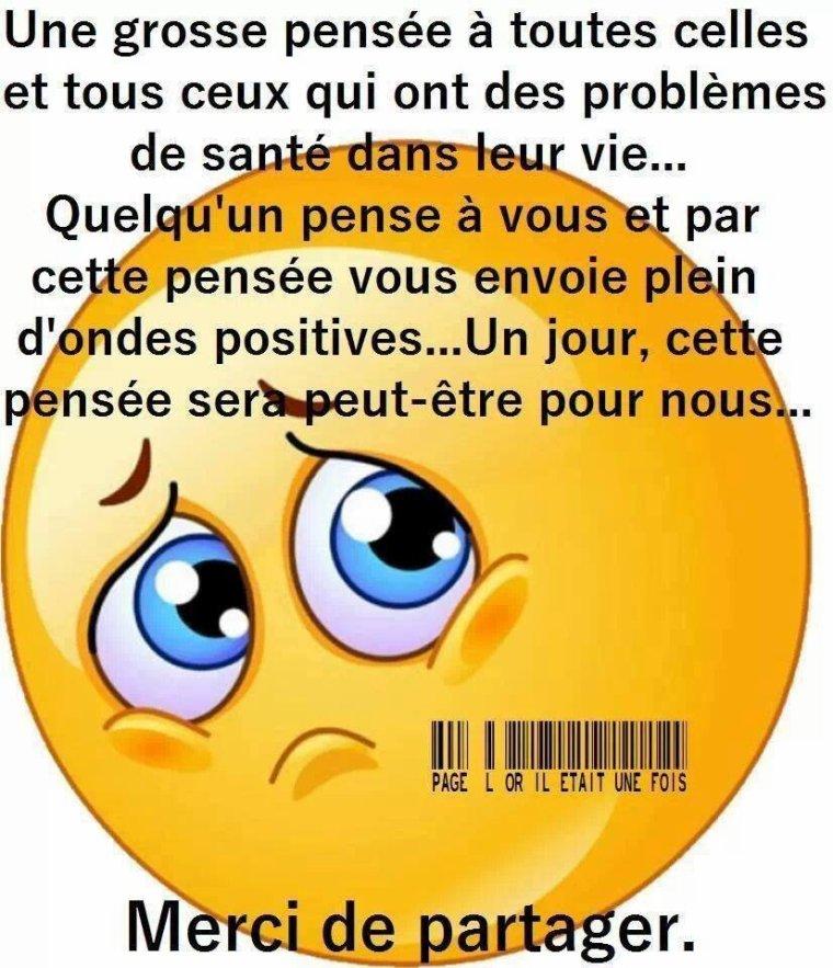 Une pensée!!!