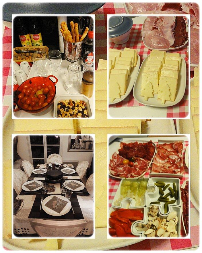 Soir e raclette entre copains samedi dernier la maison for Repas entre copains