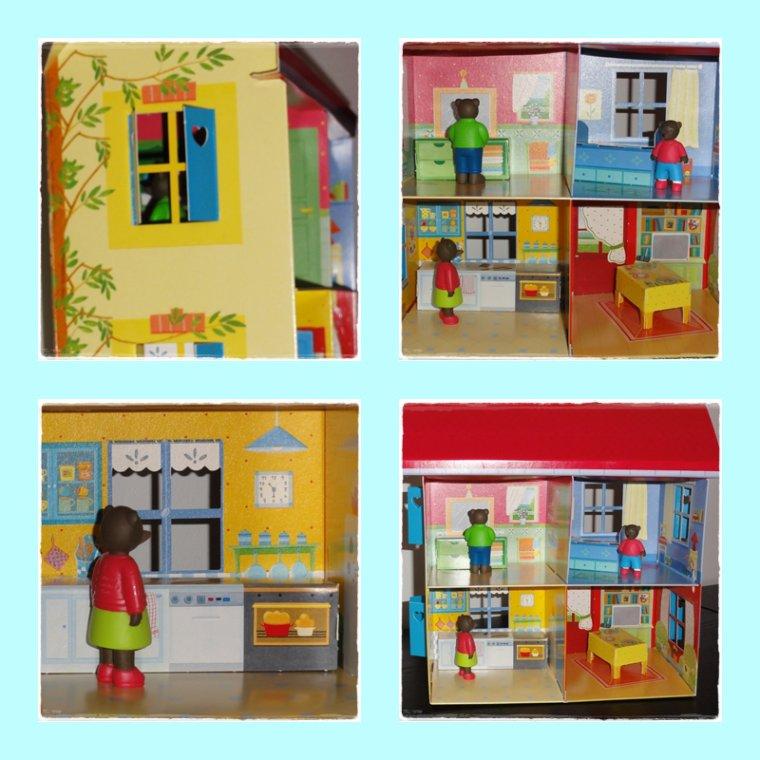 La maison de Petit Our Brun!