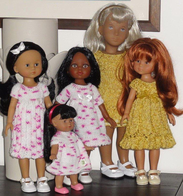 Trois de mes petites nanas...