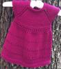 Petite robe 0-3 mois