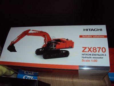 Pelle rétro sur chenilles HITACHI ZX 870