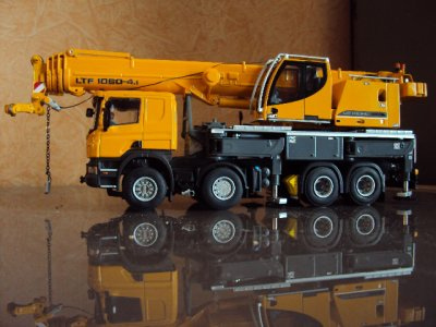 SCANIA P 420 8X4 LIEBHERR LTF 1060 4.1