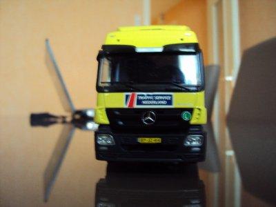 Mercedes Benz Actros L porteur. Traffic Service Nederland (TSNed) tekno