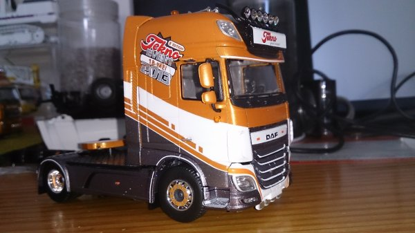 DAF EURO 6 XF SSC  TEKNO EVENT 2013