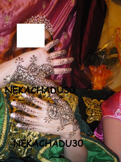 Hénné mariage djamila