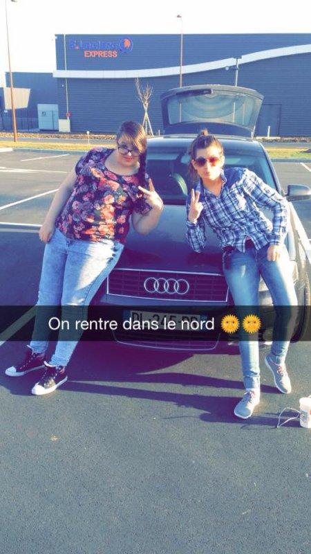 ON  rentre dans le nord en Audi :p