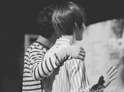 Your arm. [ TaeKai ]