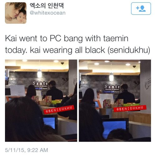 Date PC Bang. [ TaeKai ]