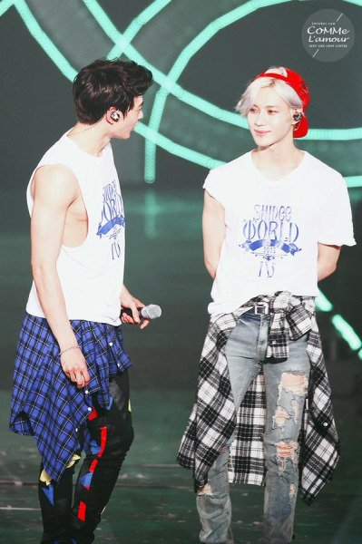 2MIN Couple. [ SHINee World IV ]