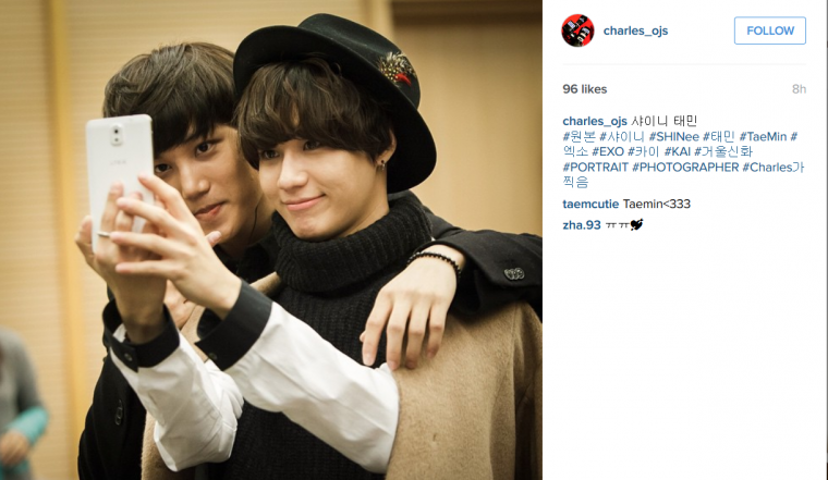 Photo de Charles Ok. [ TaeKai & Instagram ]