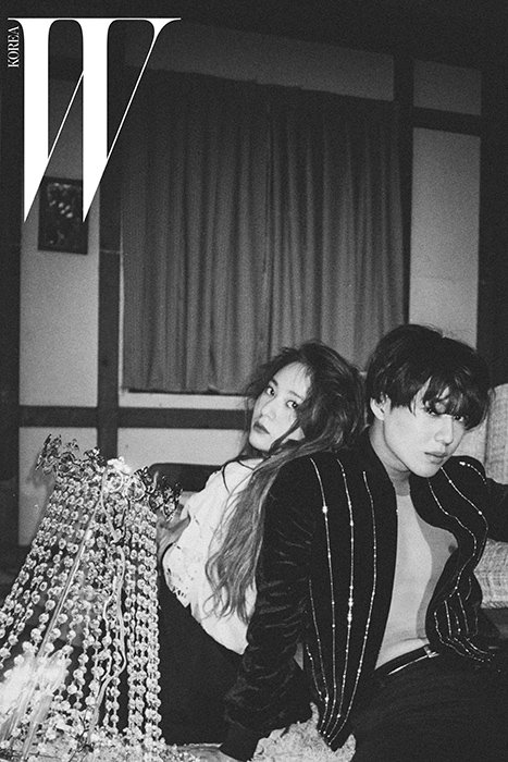 TaeMin, Kai et Krystal pour W Korea.