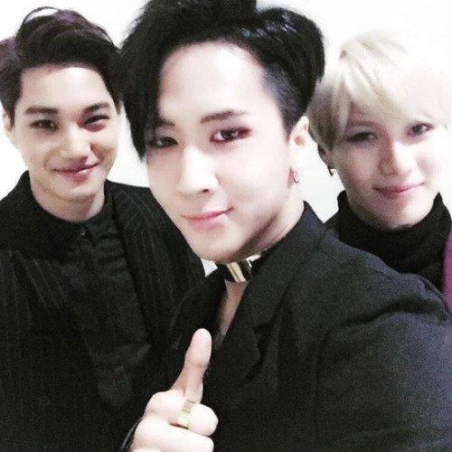 Taemin, Kai et Ravi. [ Gayo Daejun 2015 ]