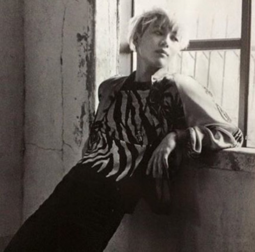 TaeMin pour Singles Magazines March Issue.