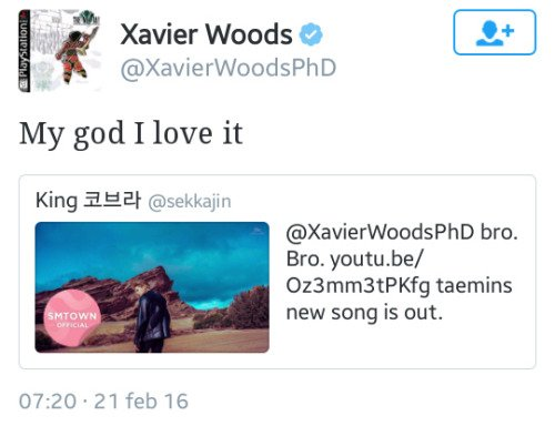 Xavier Woods.