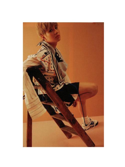 TaeMin pour le magazine GQ.