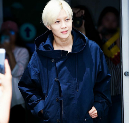 TaeMin départ à Milan, Italie. [ Incheon Airport ]