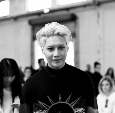 TaeMin, Fashion Week Milan.