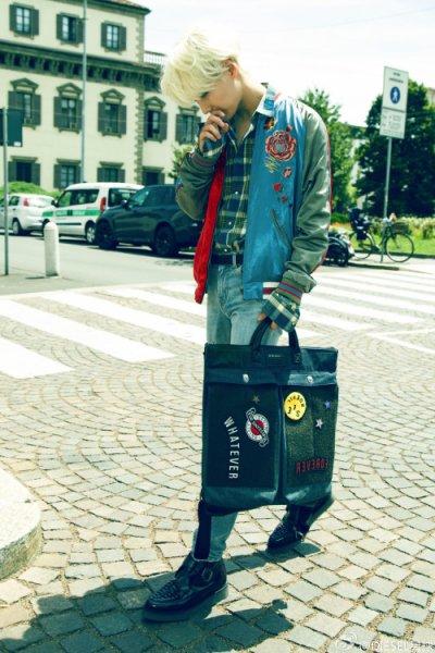 TaeMin à Sohu Fashion/Fashion week Milan.