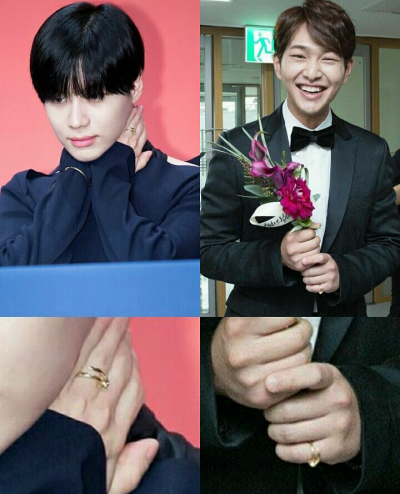 Ring Couple. [ OnTae ]