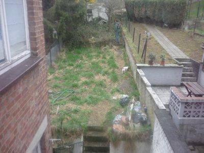 notre jardin avant et maintenant ;)