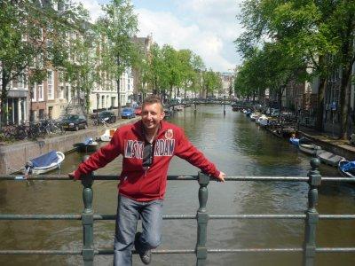 notre voyage en amoureux a Amsterdam :)