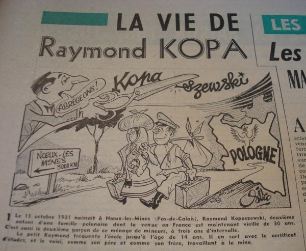 L'enfance de Raymond Kopa
