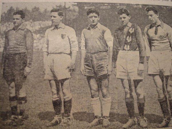 Les débuts de footballeur : l'US Noeux-les-Mines
