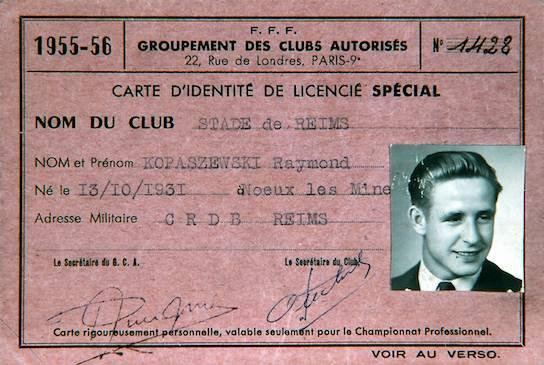 Kopa à Reims : 1951-1956