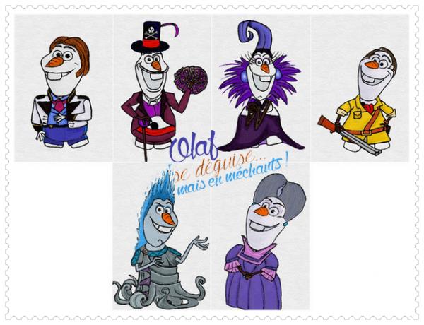 Olaf se déguise !