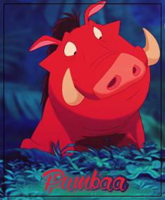Zoom sur Pumbaa.