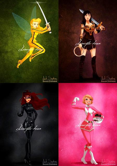 Jeu: Princesses.