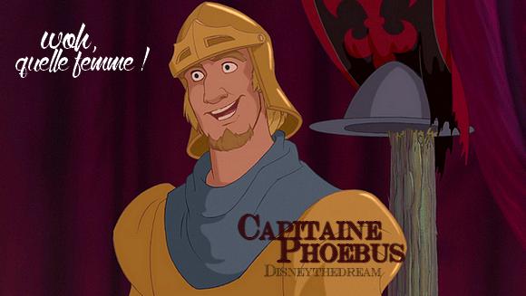 Zoom sur le Capitaine Phoebus.