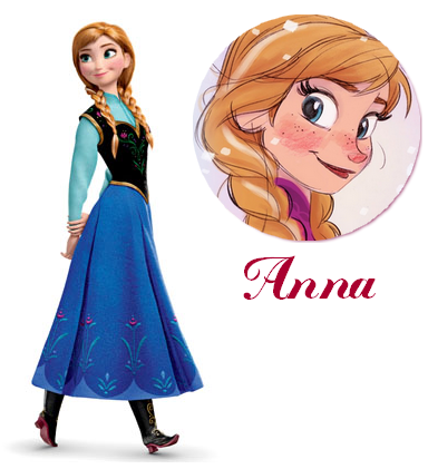 Zoom sur Anna.
