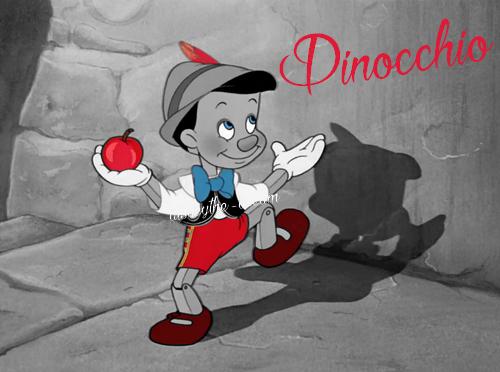 Zoom sur Pinocchio.