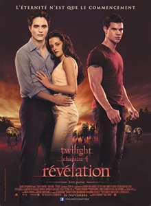 Le film de la semaine : Twilight Chapitre 4 - Révélation Partie 1