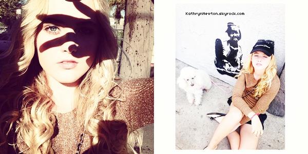 Nouvelles photos personnelles de Kathryn.
